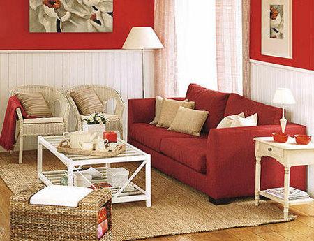 Cuatro alternativas para el sal n for Combinar colores decoracion salon