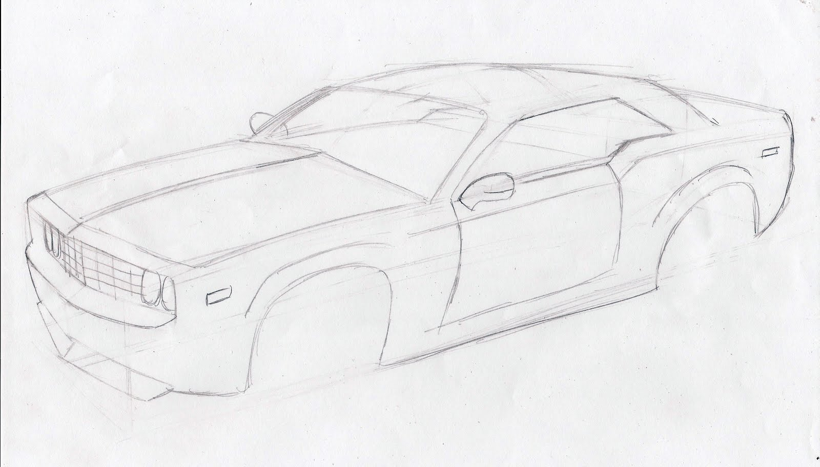 How To Draw Muscle Cars 18