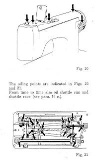 Vintage Sewing Machines: Necchi Zig Zag Issue