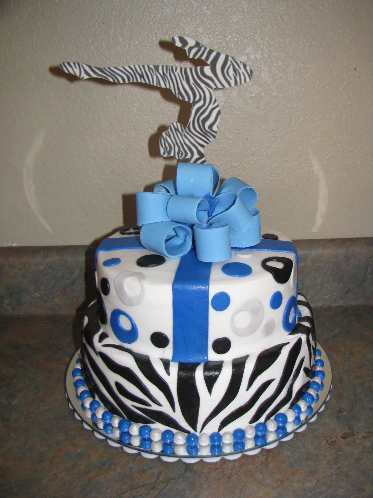 Love Quot Eden Quot Cake Gymnast Cake