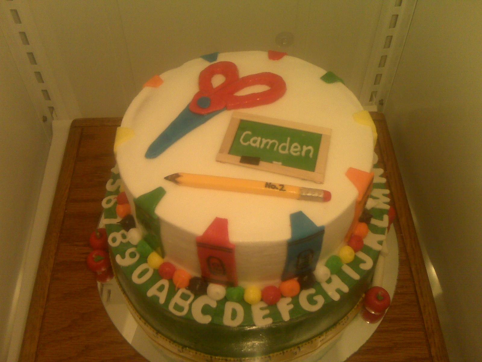 Preschool+2 - Kindergarten Graduation Cake