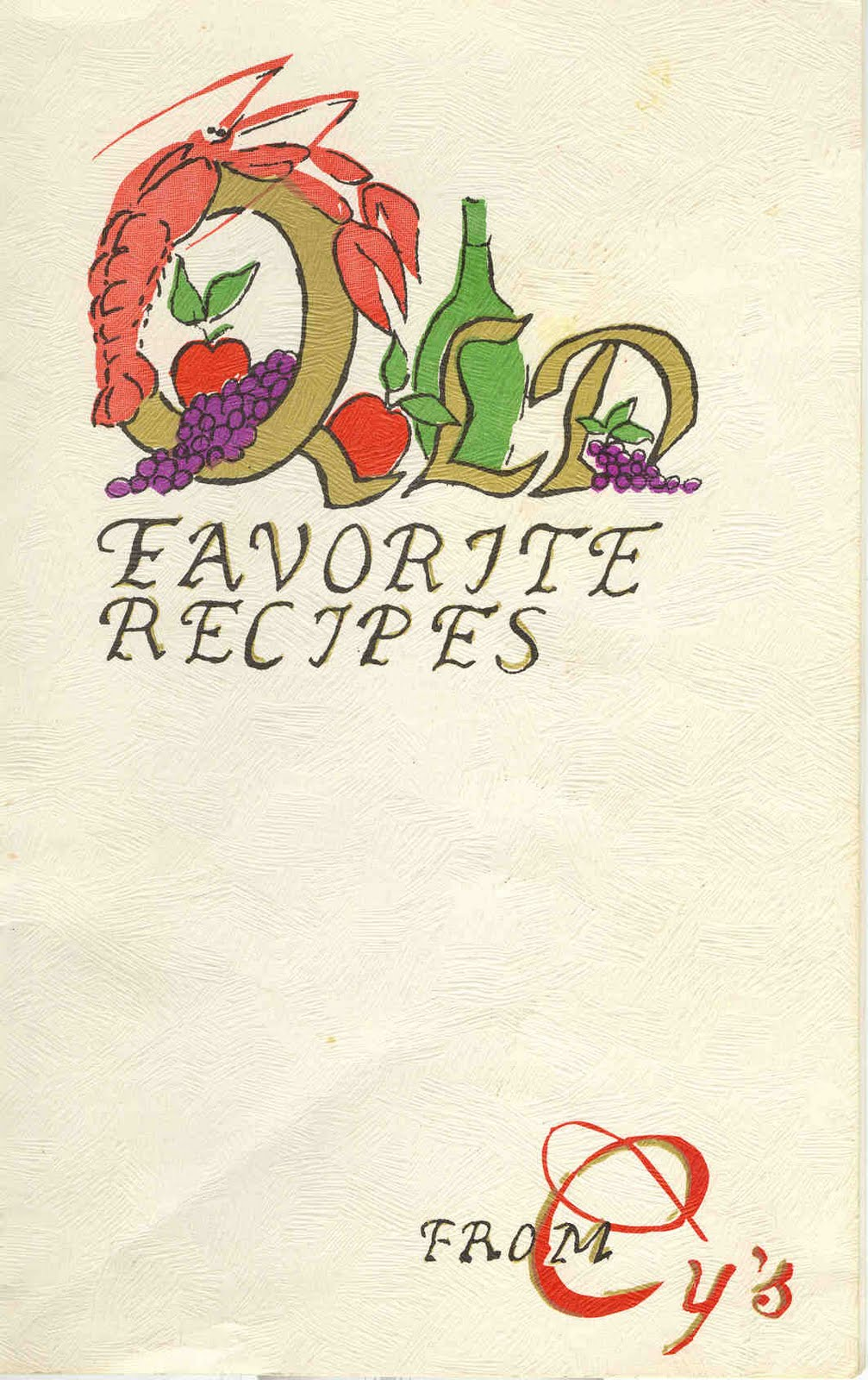 Brian Cormier's Blogtastic World!: Recipe book from Moncton's former