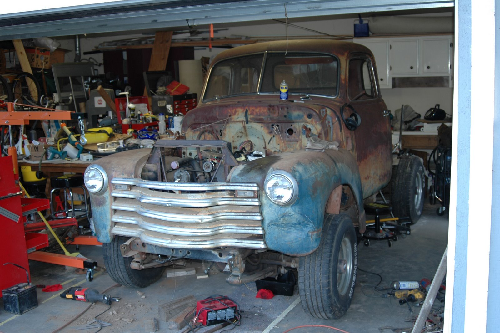 small resolution of 1950 chevy truck jeep stroker