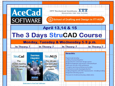 School Of Drafting and Design In ITT-Tech KOP: Basic Training Course