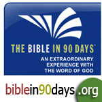 Read the Bible from cover to cover - biblein90days.org