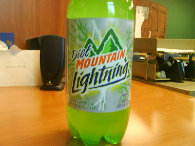 Diet Mountain Lightning!