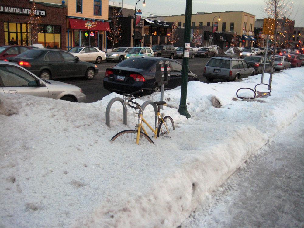 Twin City Sidewalks  Bike Parking  2