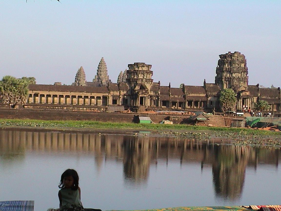 Angkor Wat Biggest Hindu Temple In Cambodia - Www imagez co