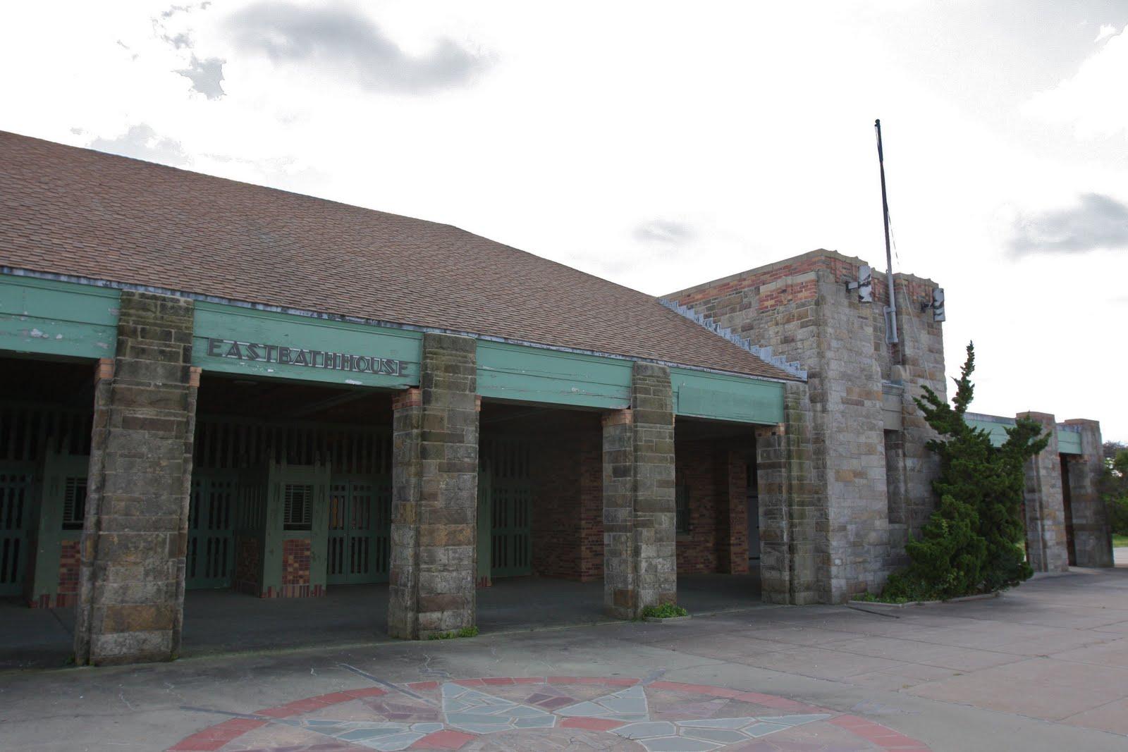 Old Long Island: Jones Beach East Bath House