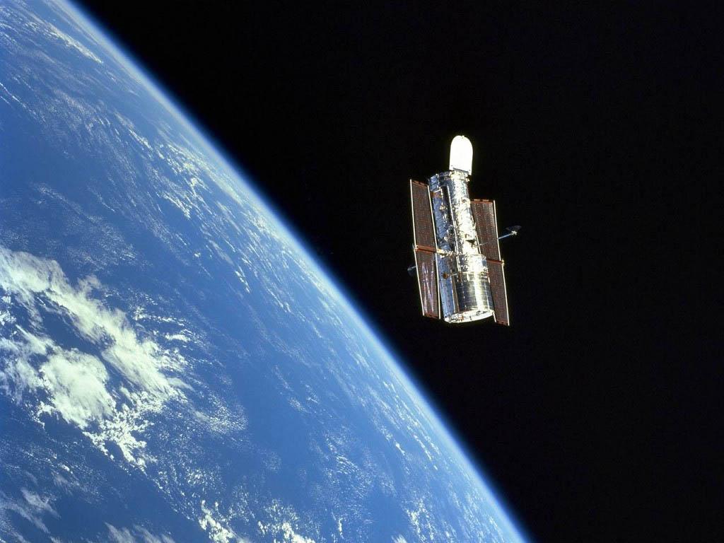 Air Space Tech Hubble Space Telescope