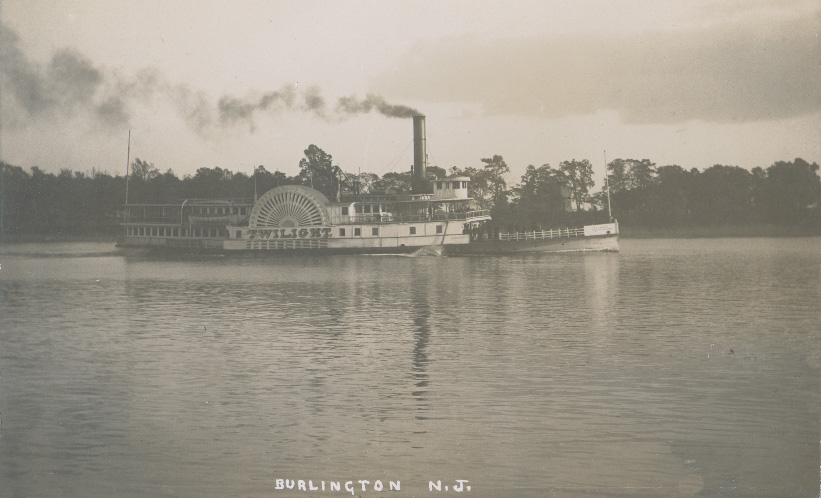 History\u2014Now and Then The Upper Delaware River Steamer COLUMBIA