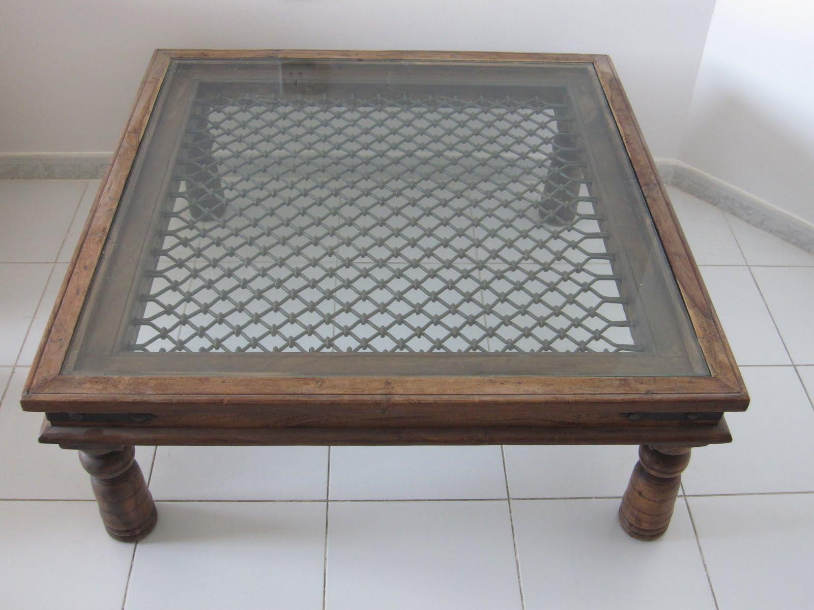 umm suqueim furniture sale: Square Wooden and Glass Center ...