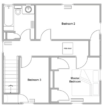 In the Little Yellow House: Master Bedroom Mayhem