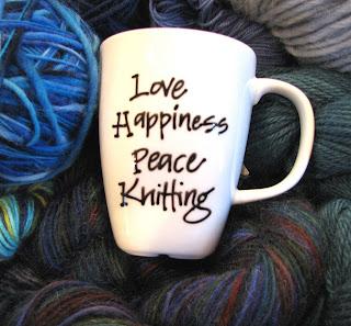 mug knitting