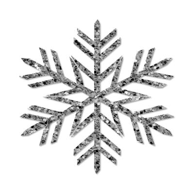 Dezigns by Staci: Grey Snowflake