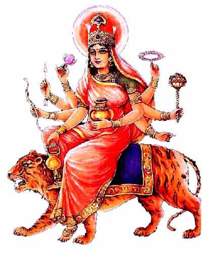 Maa Kushmanda – Goddess Worshipped on the fourth day of Navratri
