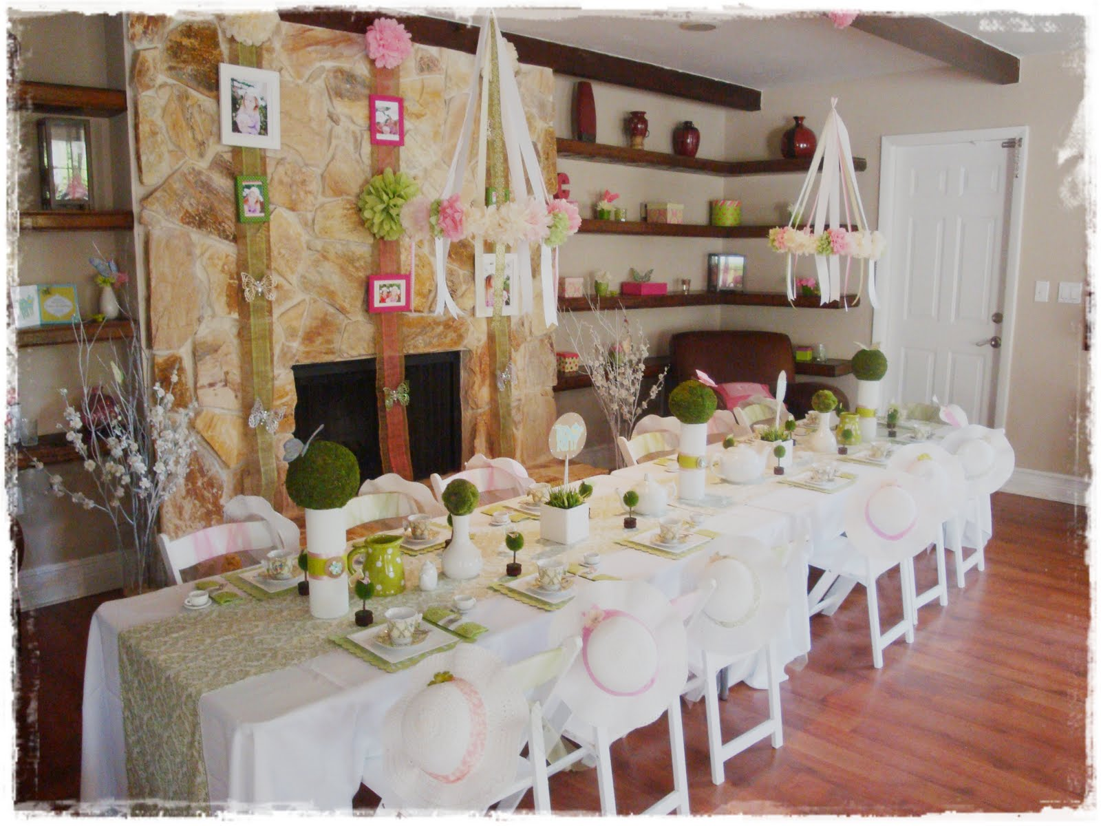 Real Party Tea Table Setting