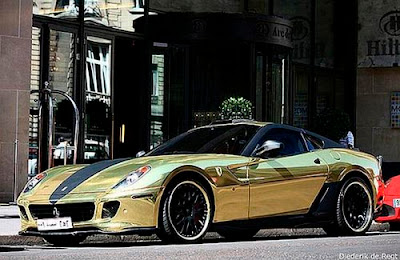Ferrari Video Gold And Diamond Plated Ferrari Mercedes Porsche Bmw Audi And Hummer Video