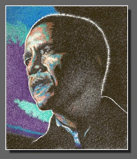 Obama, Ink Pens, by Dee Overly