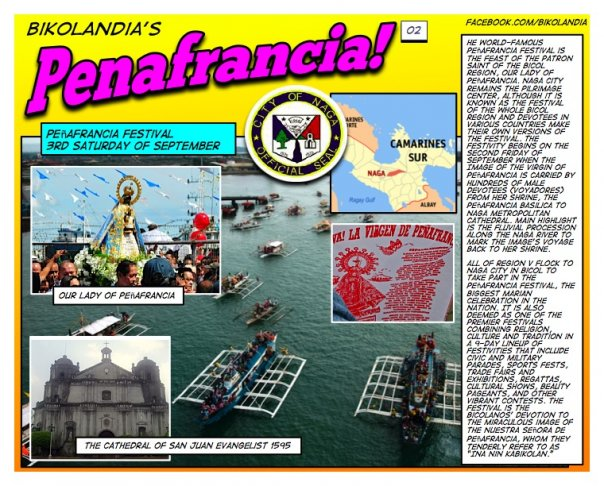 Bikolandia: HISTORY OF OUR LADY OF PEÑAFRANCIA