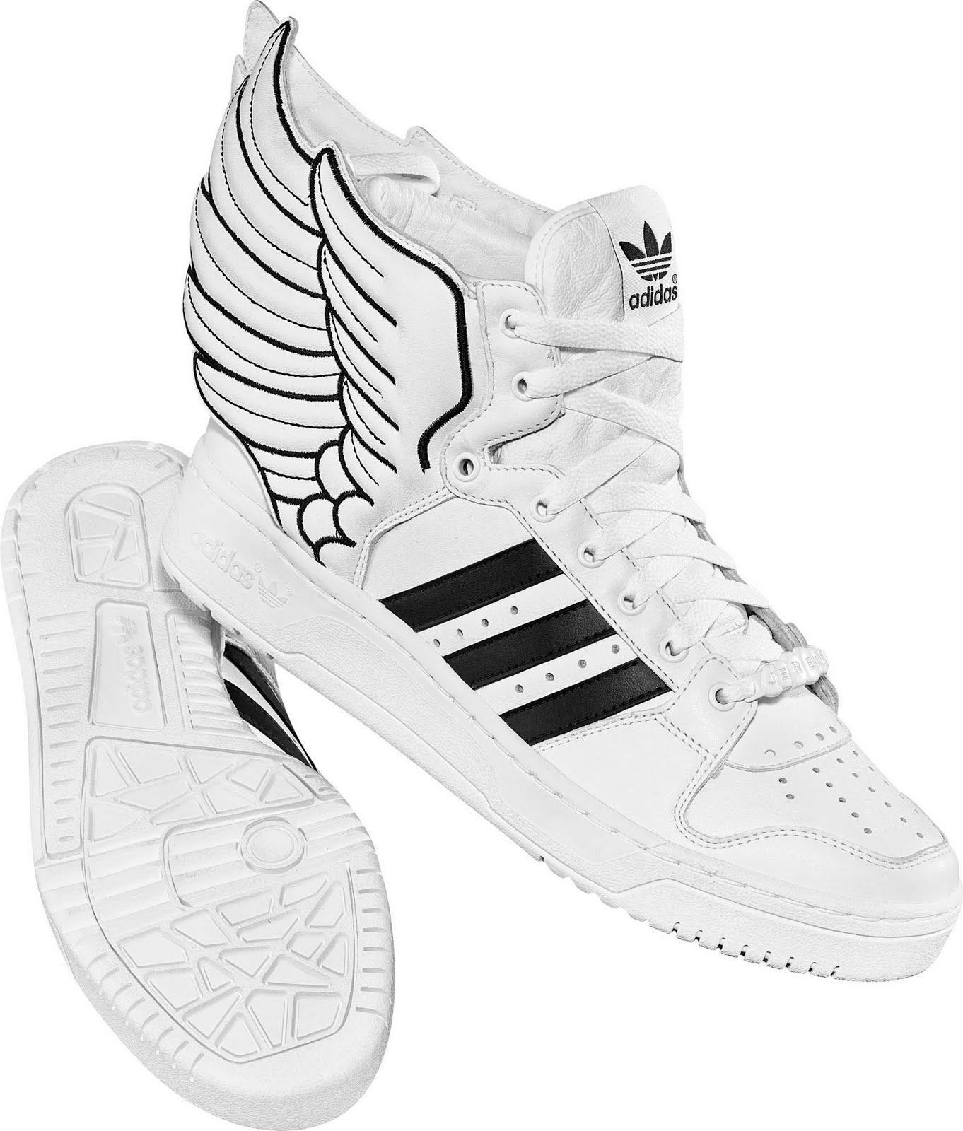 e10d69d80cc Winged sneakers by Jeremy Scott. (Image courtesy of Adidas Philippines)
