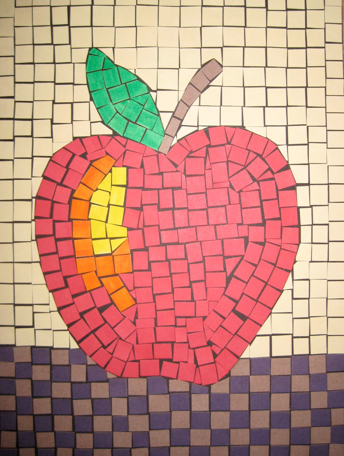 Mosaics teachkidsart for Roman mosaic templates for kids