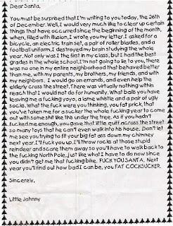 Letter to Santa 1
