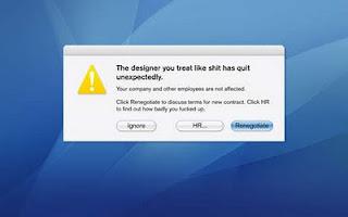 Designer resignation 1