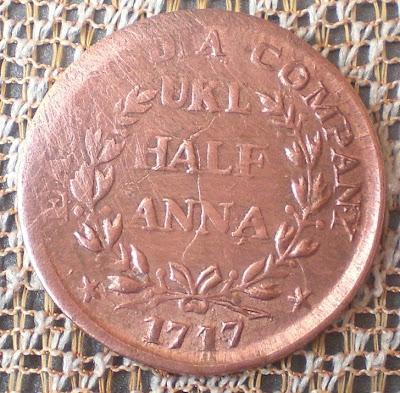 half anna east india company 1717