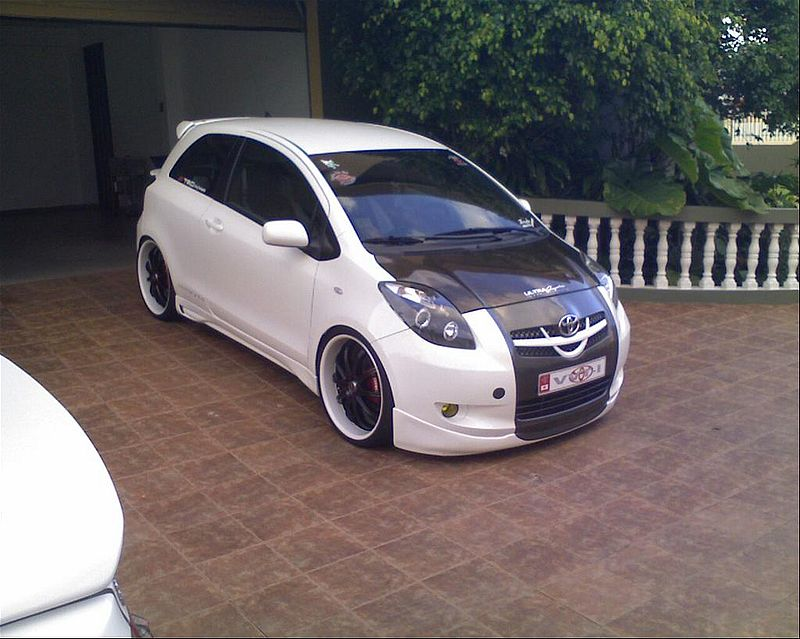 How To Modyfy Your Car Modified Toyota Yaris Rs 2007