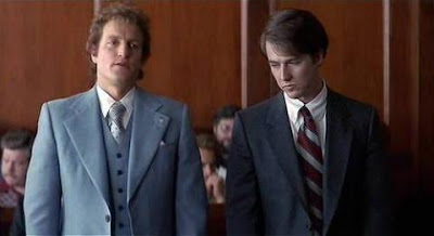 Woody and Edward in The People Vs. Larry Flynt