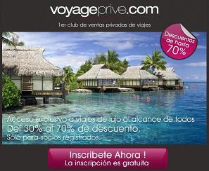 Club de viajes Voyage Prive