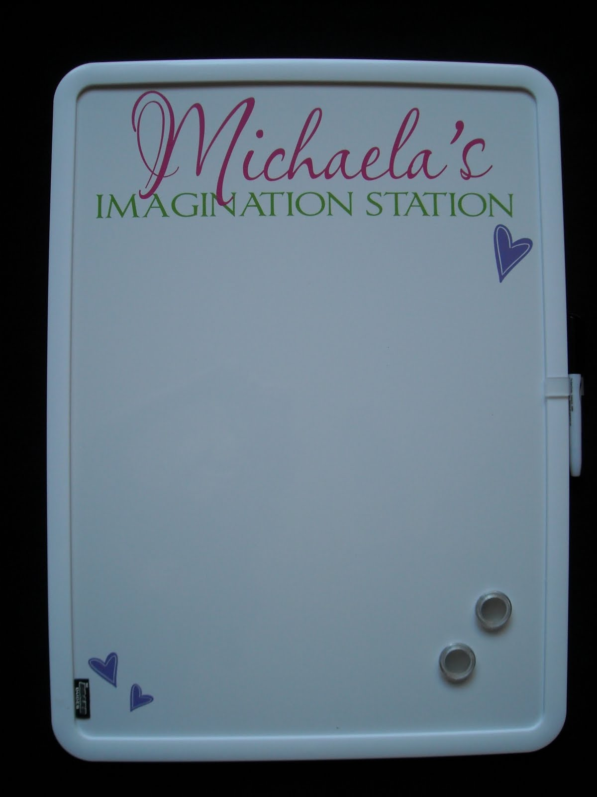 Vinyl Lettering by Susie: Dry Erase Boards