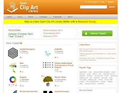 Open Clip Art vetores corel