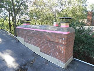 Cincinnati Modernation DIY Chimney Crown Repair