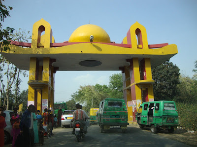 Chandrika Devi Temple -Return Gate view