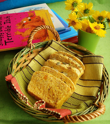 Pumpkin with Rosemary sounds interesting,  one of the first recipes that attracted my fleeting glimpses while browsing a journal.It is just amazing...