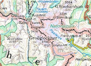 Online Terkepek Ausztria Domborzati Terkep 1