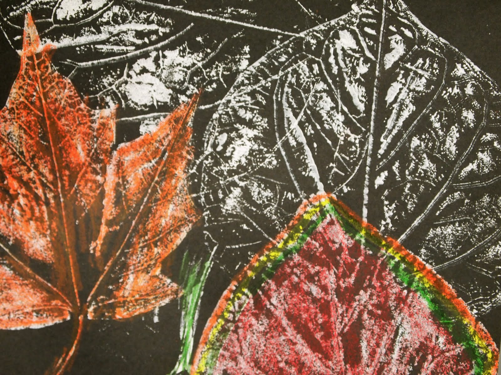 New City Arts First Grade Autumn Leaves