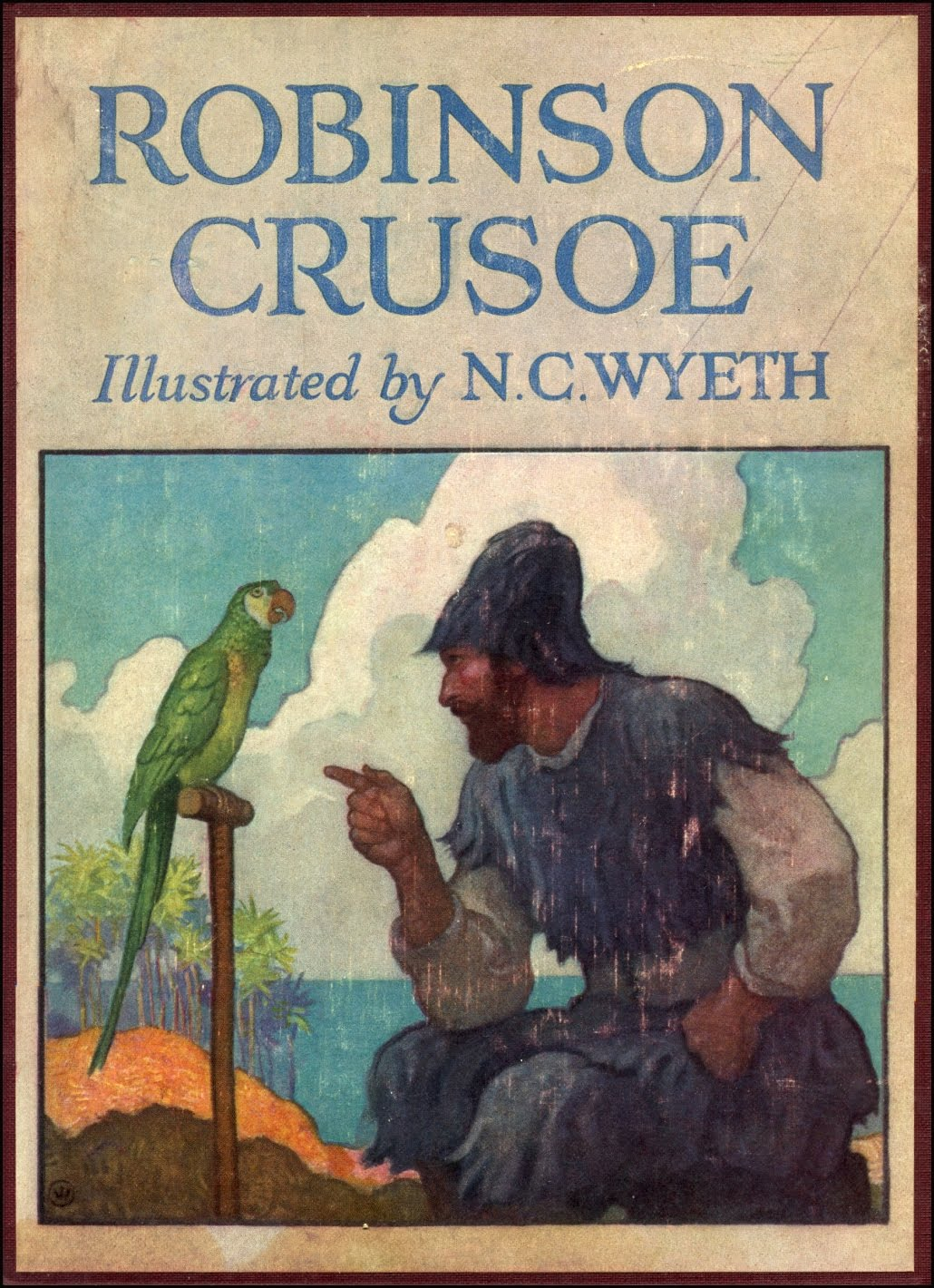 Write a book review about robinson crusoe