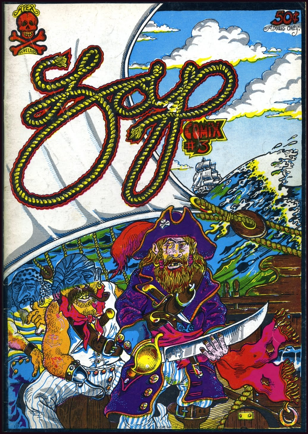 all story  zap comix  0