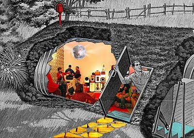 The Nuclear Abolitionist Bomb Shelters Making A Comeback