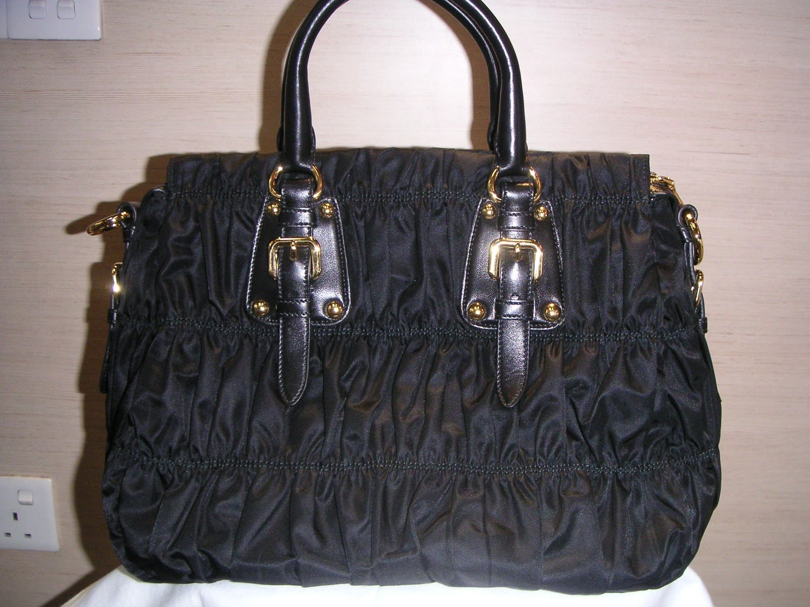 1534a104932d07 Branded Bags-Brand New & Preowned: Brand New Prada BN1336 Tessuto Gaufre