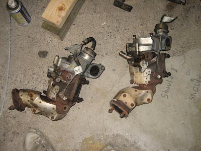 Nissan RB26DETT Garrett Turbo Chargers