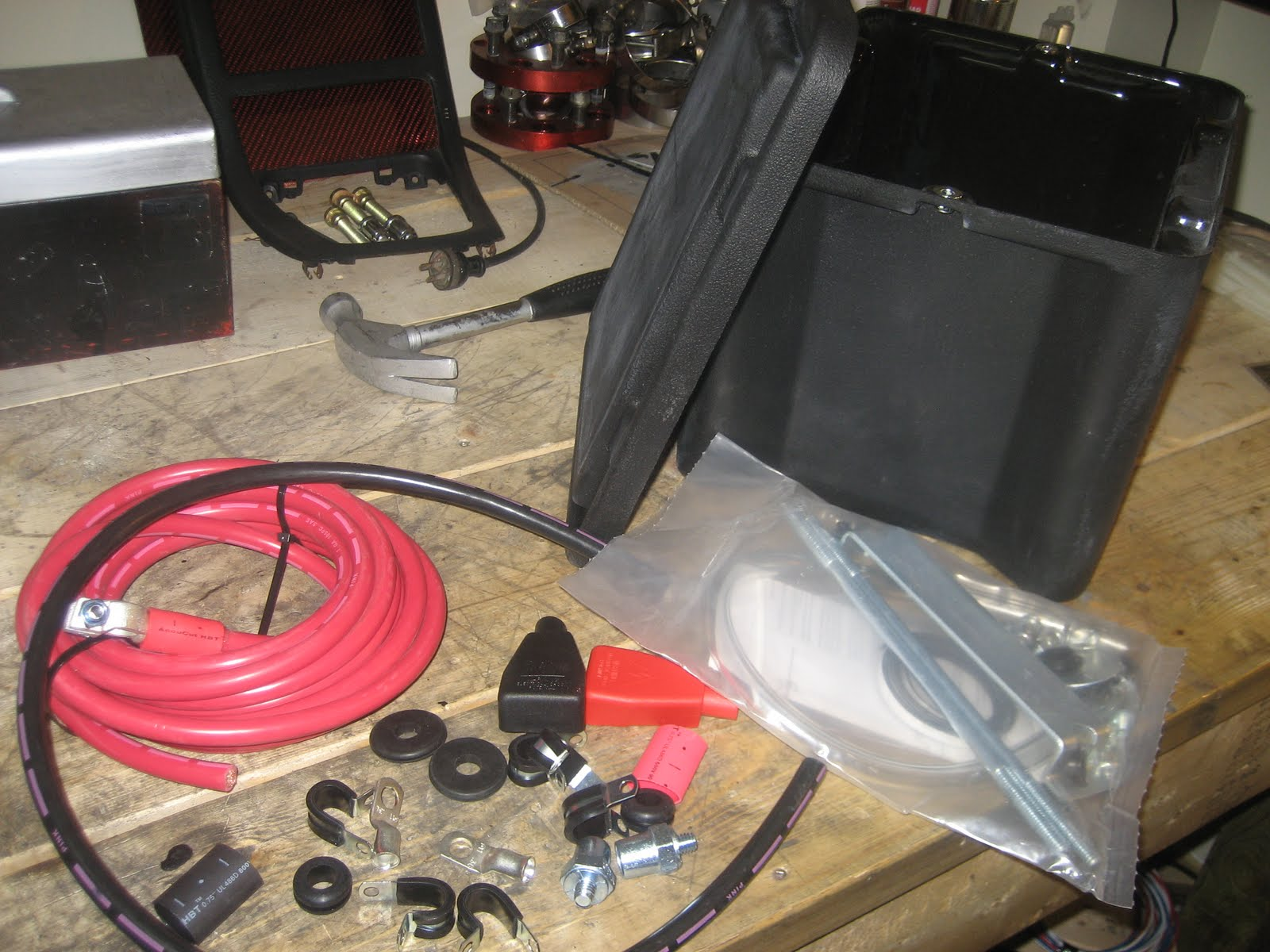 Battery Relocation To The Trunk With New Cables Wires And Ground Automotive Diagrams Author At Wiring Page Summit Racing Kit