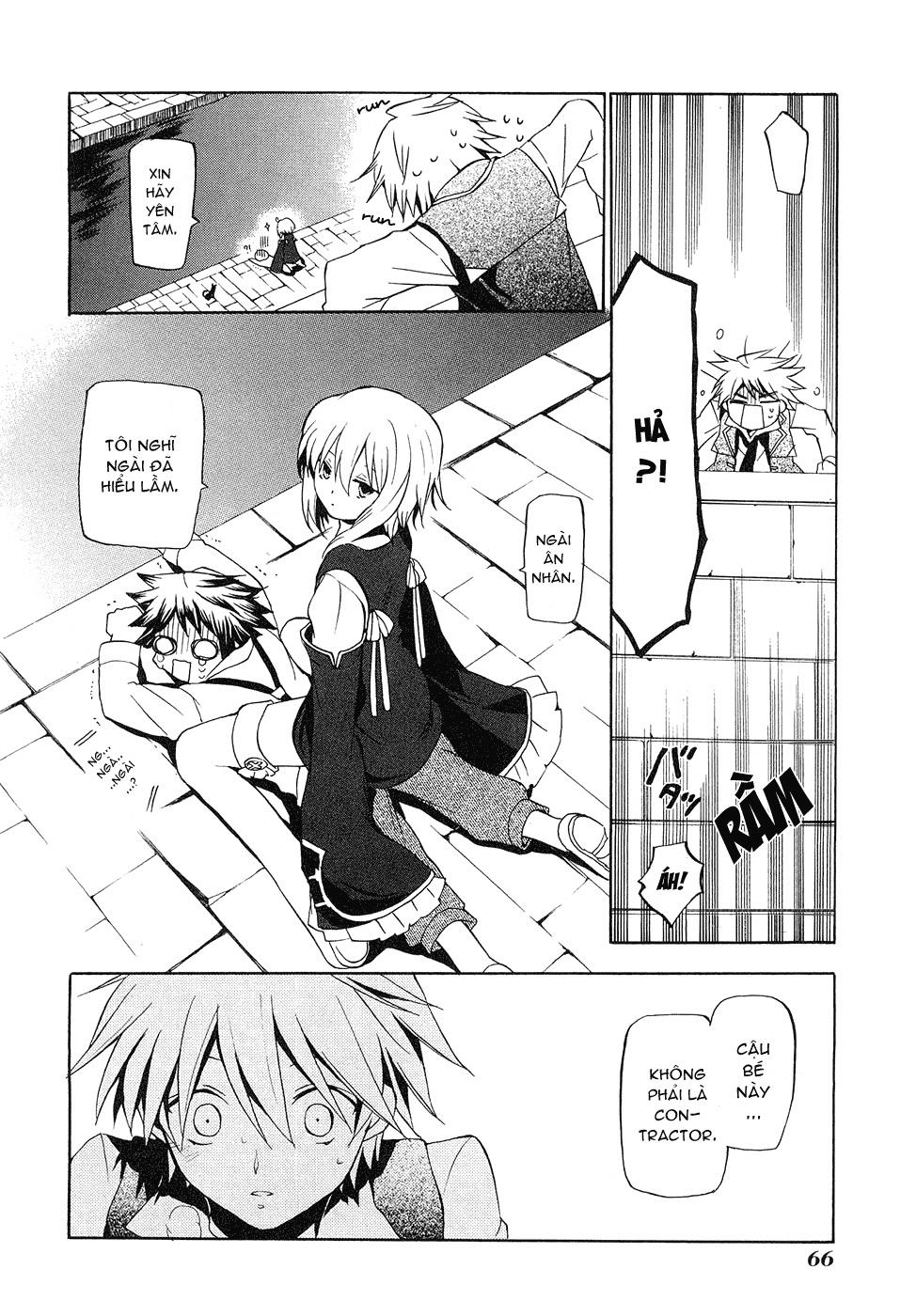 Pandora Hearts chương 011 - retrace: xi grim trang 21