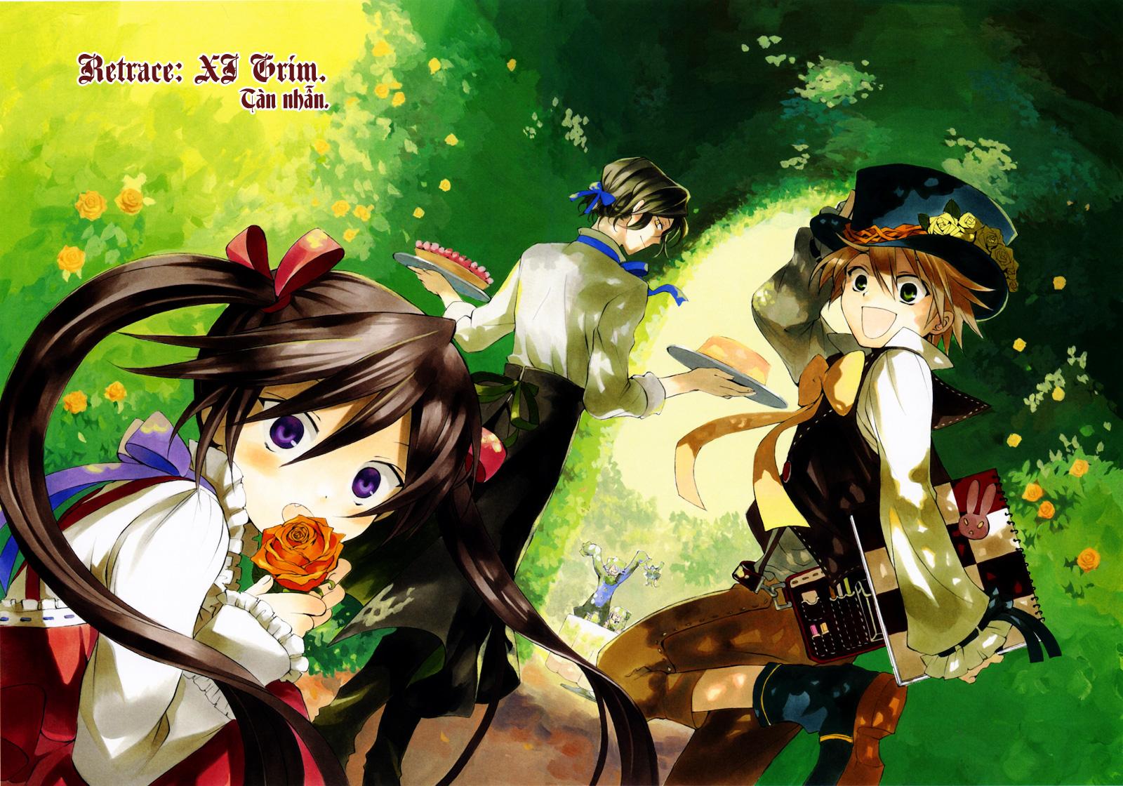 Pandora Hearts chương 011 - retrace: xi grim trang 2