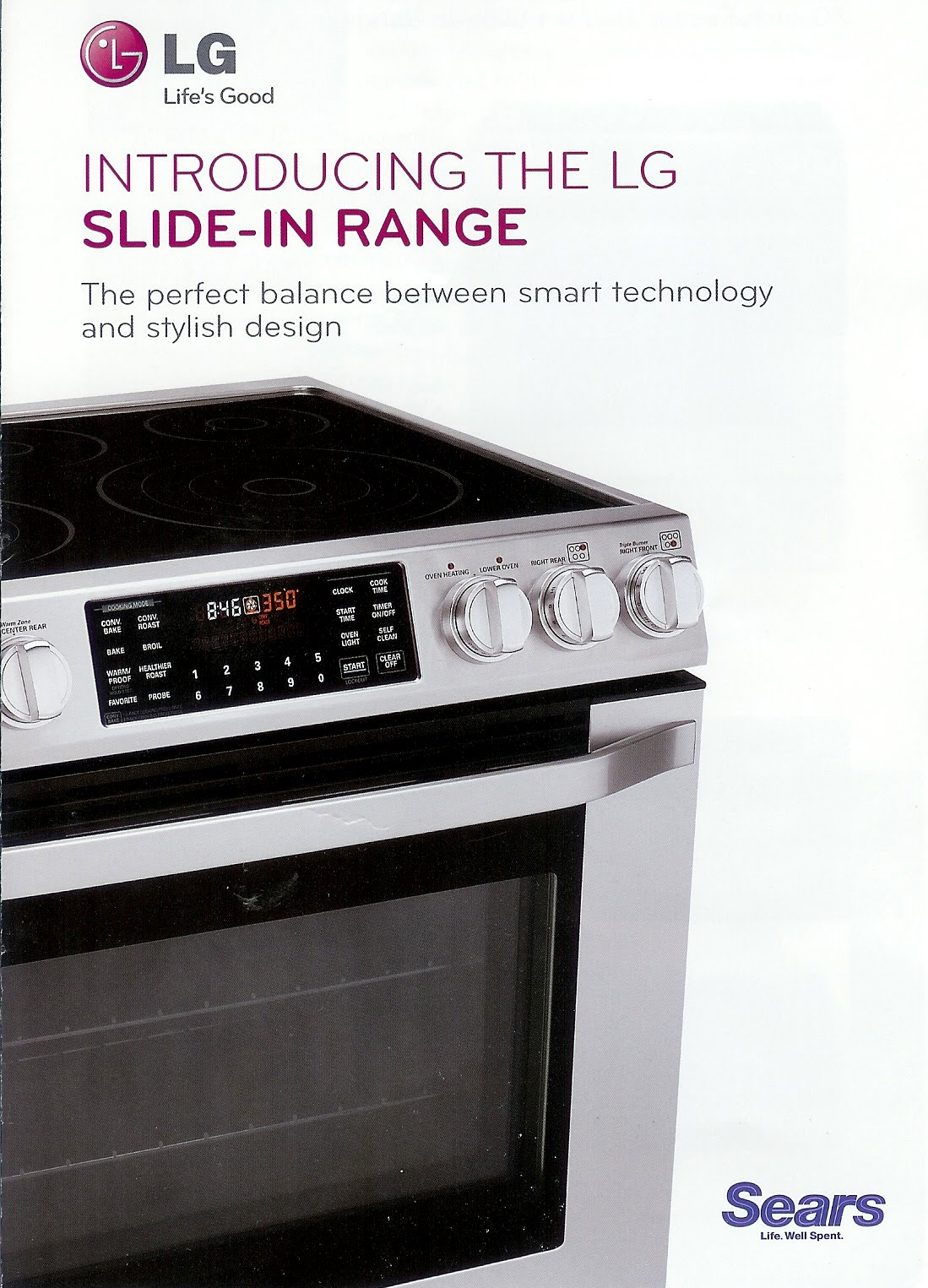 Appliance Information Lg Slide In Range