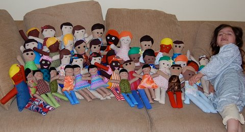 Dolly Donations: Your Dolly Drive: Dolls for Burmese Refugee Orphans