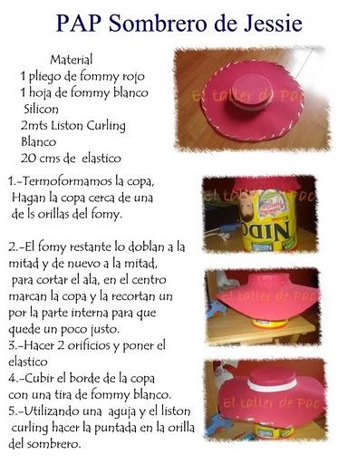 sombrero vaquera jessie b3efd9e1a22